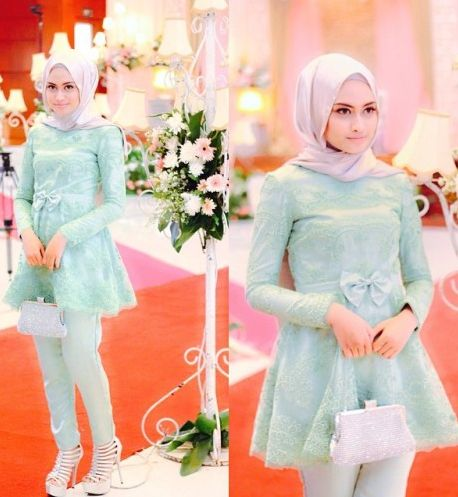 14 best 10 Model Baju Muslim Terbaru 2015 images on Pinterest