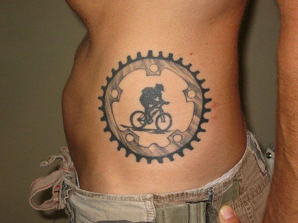 Cool bike #tattoo #biketattoos #bicycletattoos #tattoos