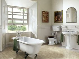 Burlington edwardian bathroom suites