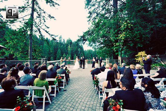 Vancouver Wedding Venues: Capilano Suspension Bridge. Capacity up to 130.