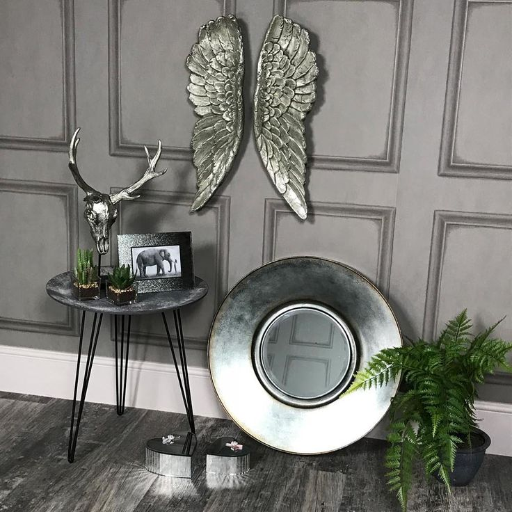 Do you love silver decor? Want to add a metallic twist to your space? We adore these new quirky decor details!   #silver #quirky #decorideas #decor #interiordecor #interiors #homeideas #trends #homedecor #inspiration #luxuryinteriors #retro #homeinspiration