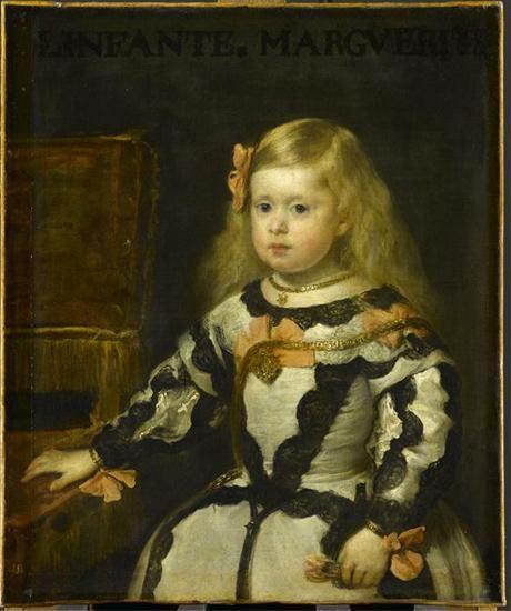Diego Velázquez, Portrait Marie-Marguerite © RMN-Grand Palais (musée du Louvre) / Gérard Blot