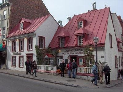 Always a stop in Quebec City - old Quebec cuisine