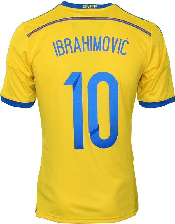 Sweden home jersey Ibra 10