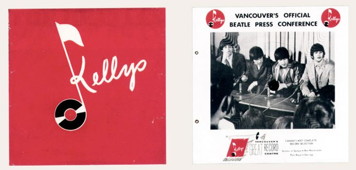 Kellys Beatles Vancouver press conference flexi, 1964