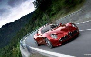 A modern day Italian classic the Alfa Romeo 8c #Italy