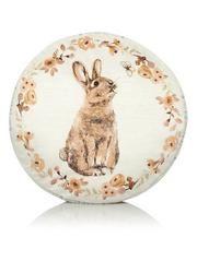 Classic Natural Bunny Cushion 30x30cm