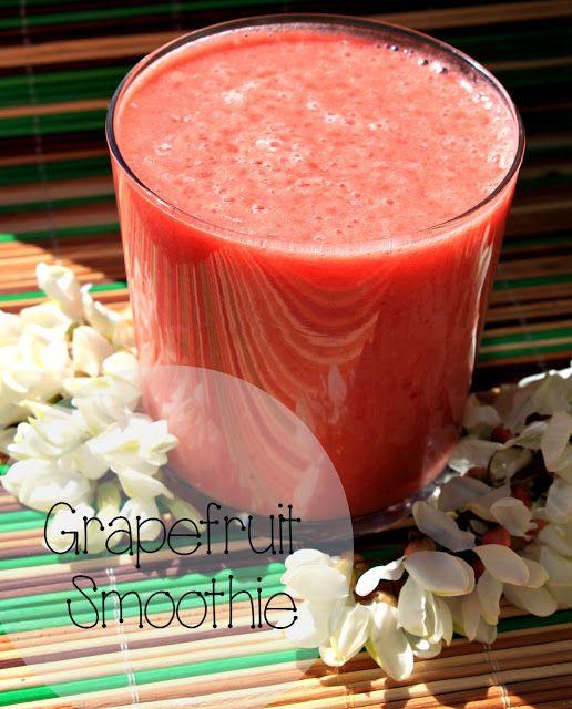 Смузи из грейпфрута / Grapefruit Smoothie