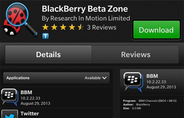 BlackBerry Beta Zone app now available for BB10 smartphones Telus Fort Saskatchewan Cornerstone Mall 780-998-9551 http://www.mobilityhelp.com