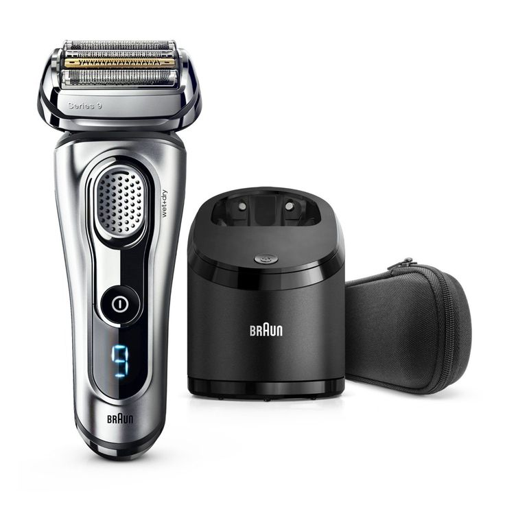 We were lucky enough to be given the latest premium Braun shaver to review here at Savvy Dad HQ, and