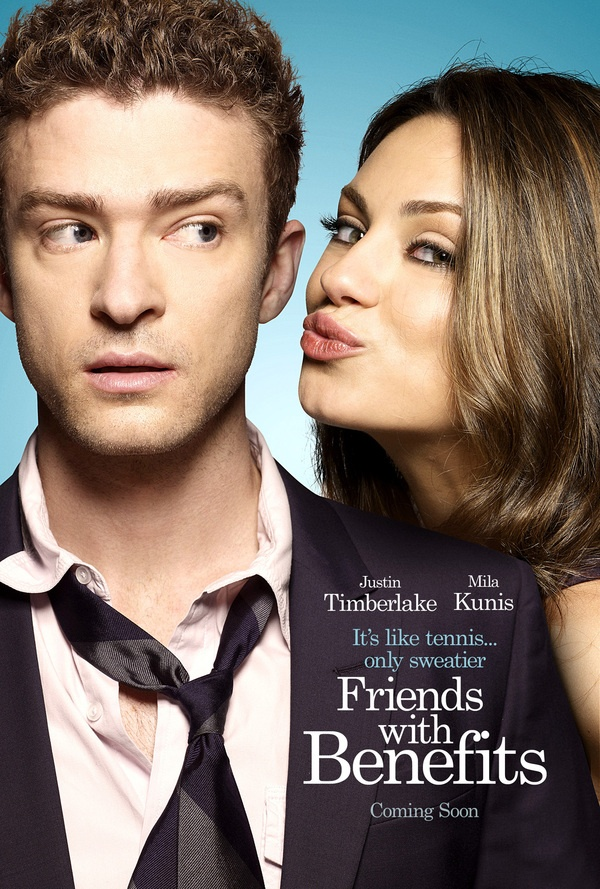 Justin Timberlake & Mila Kunis - Friends With Benefits by nir gutman, via Behance