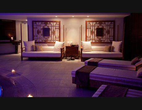 "spa area / 5 star hotel "" du lac "" / Ioannina Greece /  interior designer Sissy Raptopoulou"