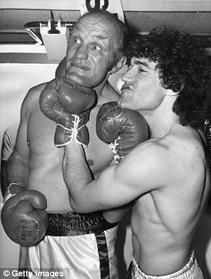 Henry Cooper and Kevin Keegan
