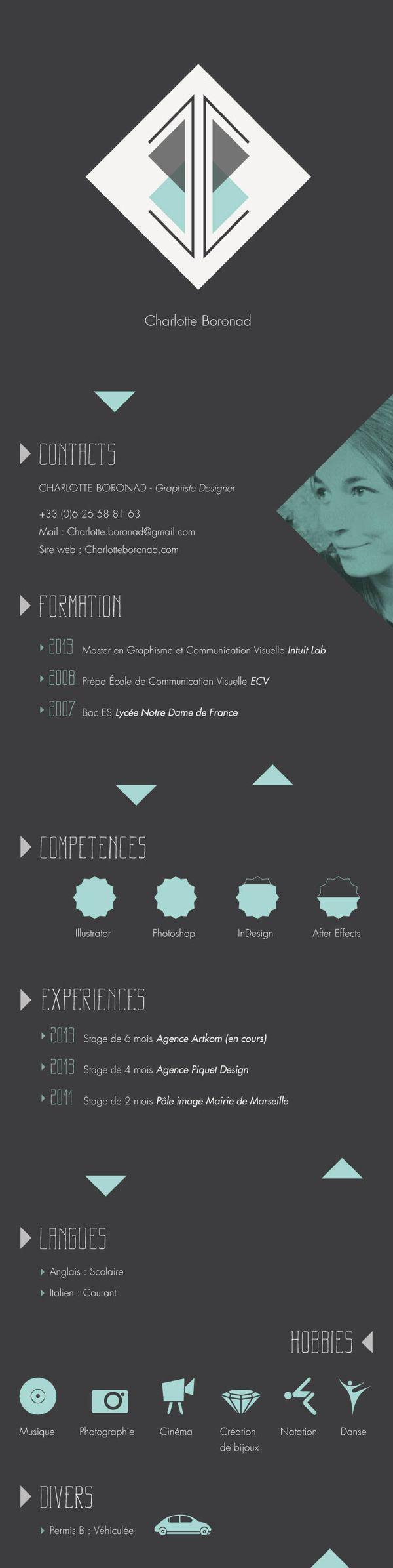 Cv Design Resume Design Resume Cv Graphic