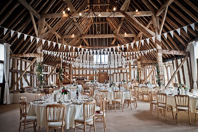 Vintage boho weddings at Clock Barn wedding venue in Hampshire. Image by lolarosephotography.com | Visit wedding-venues.co.uk