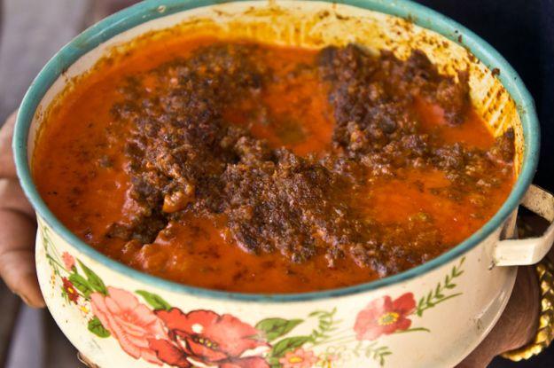 How to make Khao Soi meat sauce Tai Neua style