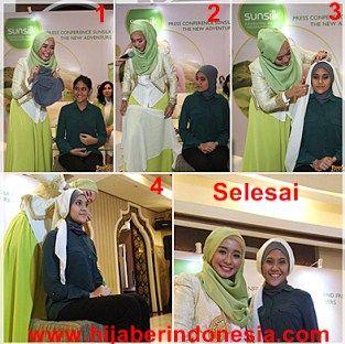 Hijab cantik alal laudya Cintia Bella
