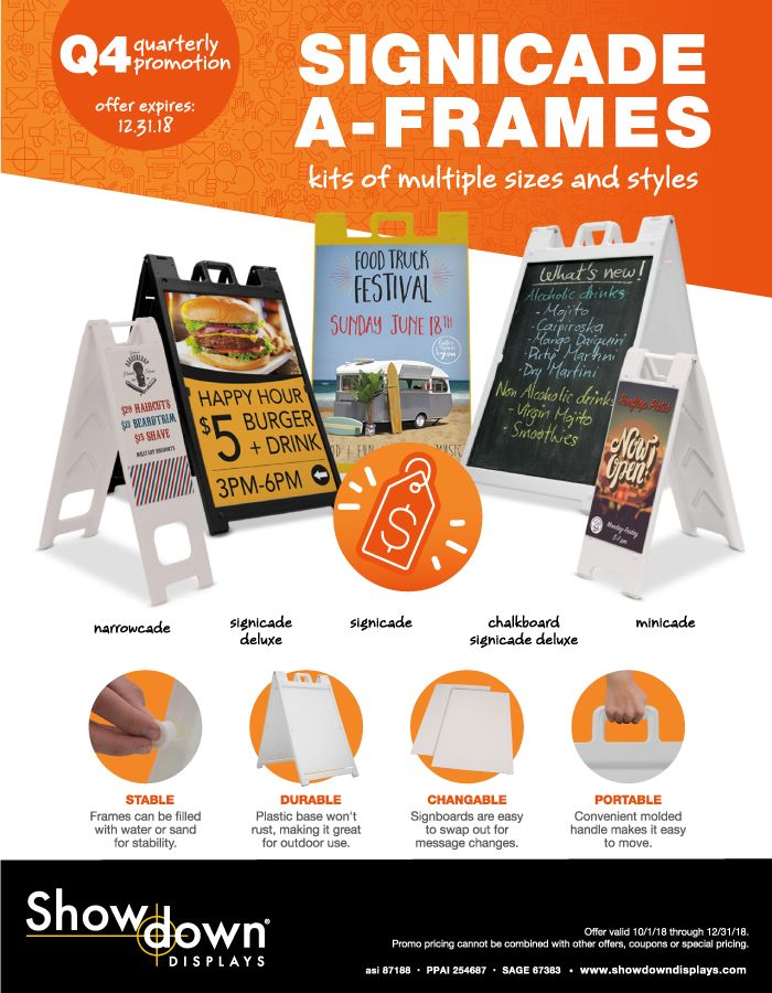 signs and displays from