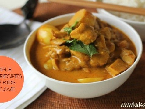 Yum! I feel like Chicken Korma - 6 curries mild enough for kids to love.