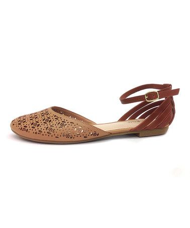 Another great find on #zulily! Natural Closed Toe Lynda Sandal by Bamboo #zulilyfinds