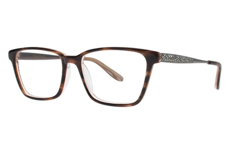 Vera Wang Tula Eyeglasses in Horn