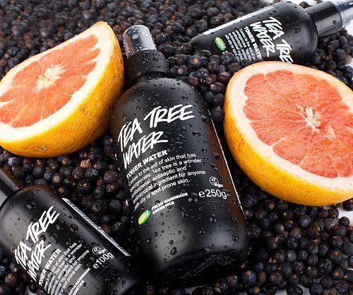 Tea Tree Water (Toner): Beliebtes Gesichtswasser für normale bis ölige Haut. Tea Tree Water empfehlen wir für ölige Haut, speziell wenn sie zu jugendlicher Pickligkeit neigt.