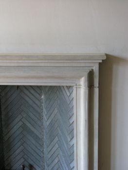 Chevron Detail with Simple Elegant Surround | via Loomis McAfee Architects