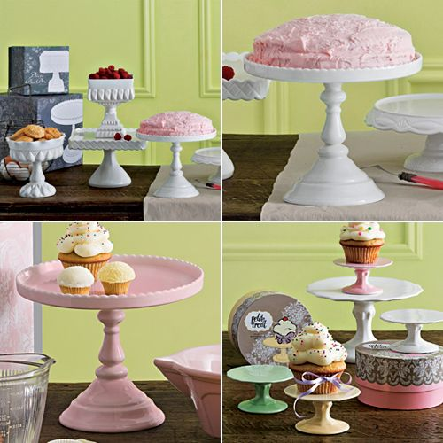 17 best images about cake stands toppers on pinterest for Pretty cake stands