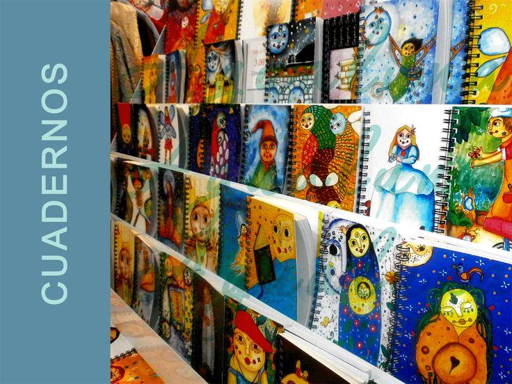 Cuadernos de Agualuna, del artista guatemalteco Estuardo Älvarez. http://www.veniracuento.com/
