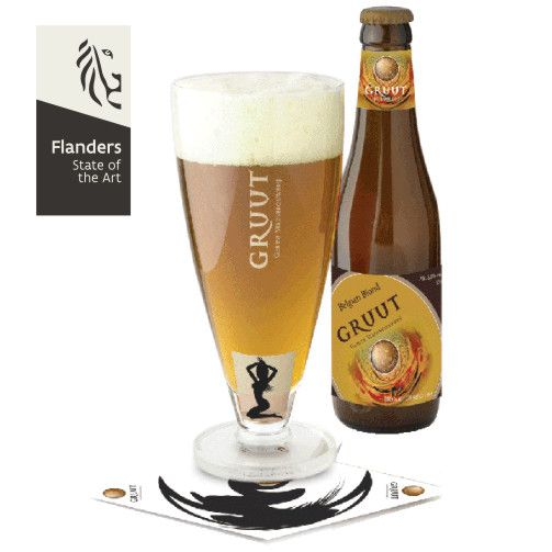 Located in the very heart of Ghent, The Gruut Brewery uses special spices (gruit) instead of hop to make their beers.  Currently Gruut produces five beers: a white beer, a blonde, an amber beer, a brown beer and a beer called Inferno. #MustTry #Flanders
