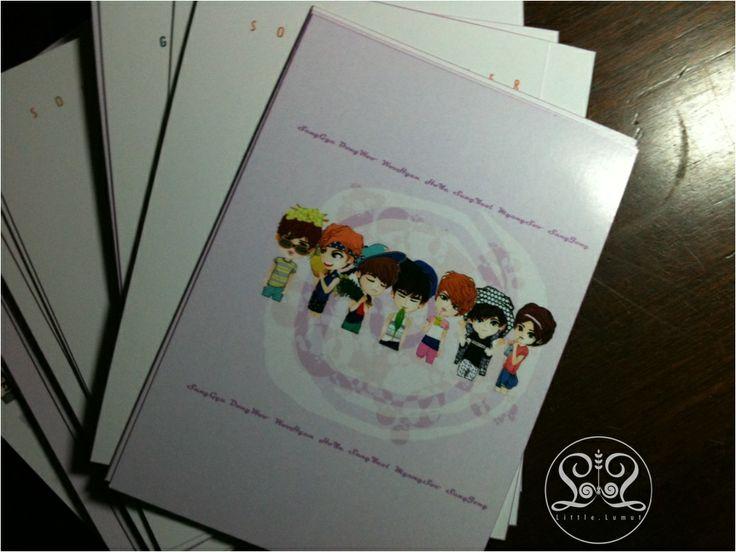 "Post Card INFINITE ""Gardener Edition"""