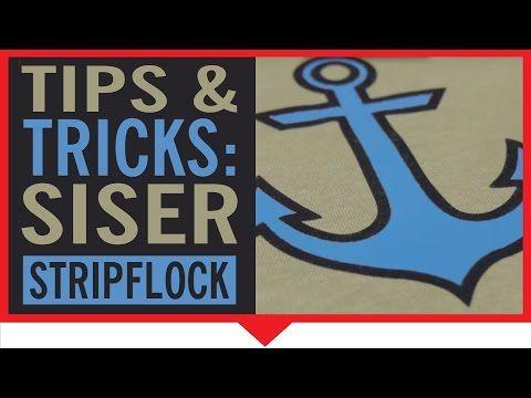 Siser StripFlock Heat Transfer Vinyl - My Vinyl Direct