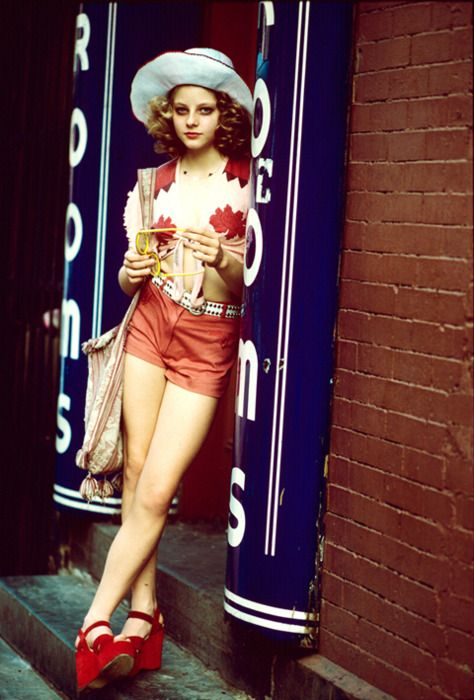 Iris - Jodie Foster - Taxi Driver    I guess I've played a lot of victims, but that's what a lot of the history of women is about.