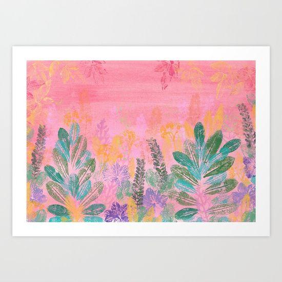 Dreamy Garden Art Print