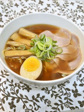 豚の角煮♡リメイク♡醤油ラーメンスープ by mi0921 [クックパッド ...