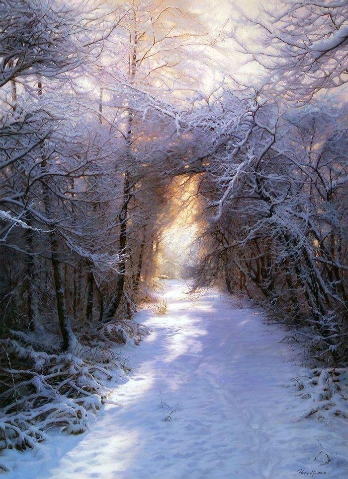 Свет и тень - его вдохновение. Иранский художник Ahmad Haraji