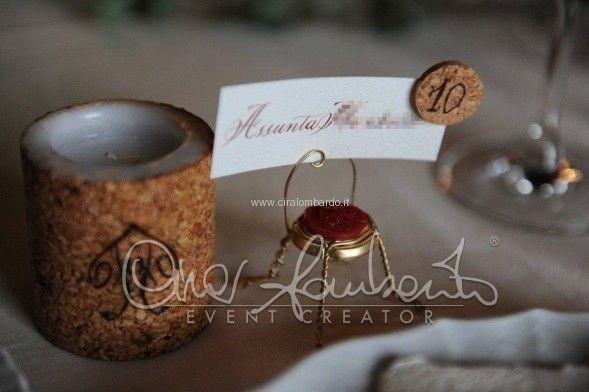 Вот где пожениться в Италии! Matrimonio da sogno in Umbria. Originale segnaposto per un evento al sapore di Vino Sagrantino | Cira Lombardo Wedding Planner