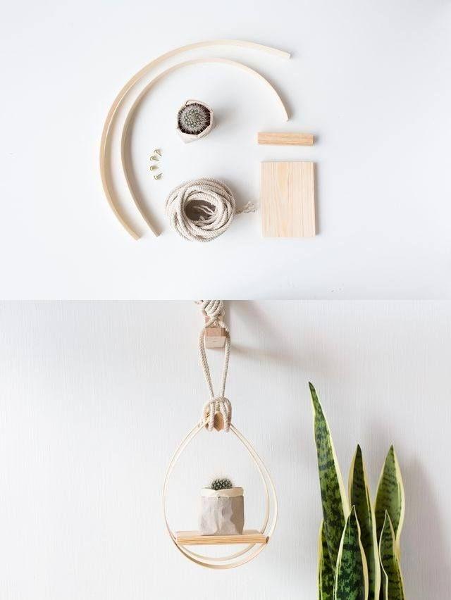 3045 best diy ideas images on pinterest craft ideas - Estantes para plantas ...