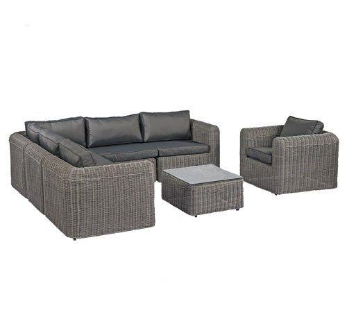 POLY RATTAN Lounge Gartenset GRAU Sofa Garnitur Polyrattan Gartenmöbel Neu SVITA http://www.amazon.de/dp/B00ZG6P44U/ref=cm_sw_r_pi_dp_.p4bxb1DMP3KA