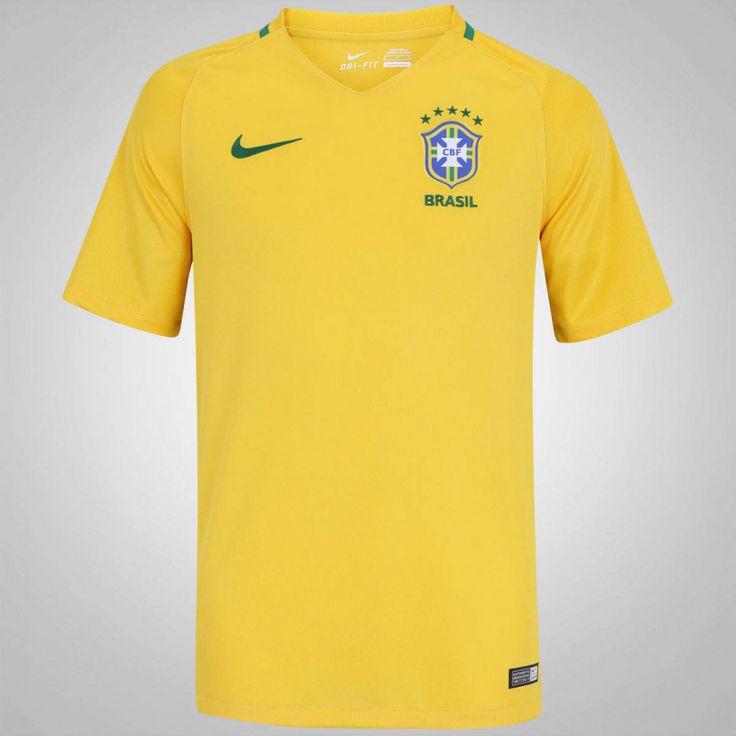Oferta do Dia!-Oferta do Dia!-Camisa do Brasil I 2016 Nike - Masculina