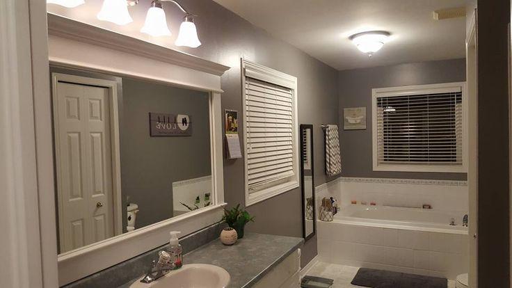 Bathroom Inexpensive DIY facelift - After