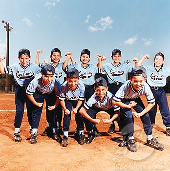 Image detail for -Little League Baseball Players Making Muscular Poses Stock Photo Image