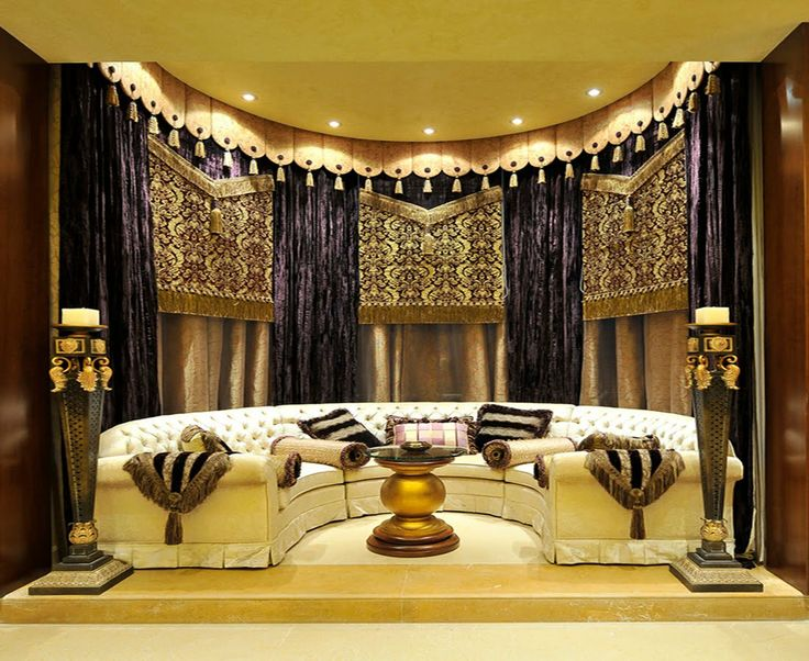 Majlis Living Room Arabic DecorMoroccan InteriorsLiving