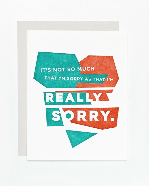 63 best Sorry images on Pinterest Card ideas, Greeting cards and - free printable apology cards