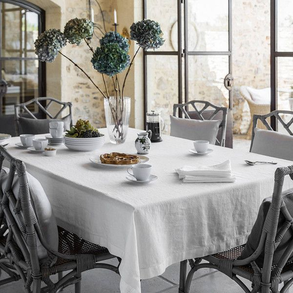 25 Best Ideas About Linen Tablecloth On Pinterest Grey Dinner Set Inspirat