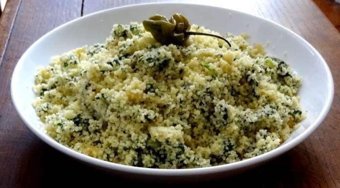 couscous aux épinards