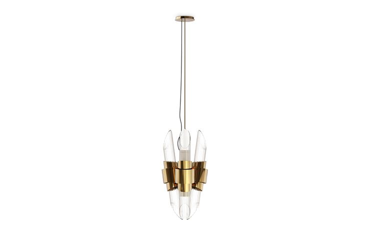 A novelty by LUXXU, TYCHO PENDANT is an incredible and contemporary lighting item perfect for your interior design project! Get inspired by its crystal glass tubes held by a gold glass ring that creates a luxurious surrounding ambiance. Learn more about modern lighting inspirations selected by LUXXU for your hotel interior design projects at http://luxxu.net/