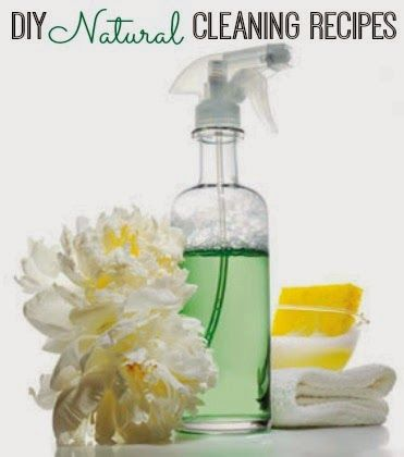 12 DIY Natural Cleaning Recipes   www.inspirationformoms.com #naturalcleaners #springcleaning