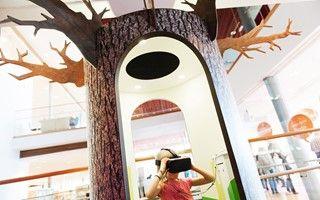 Virtual Reality bås