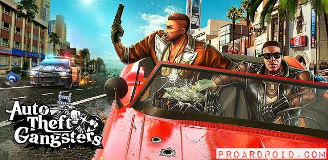 تحميل لعبة Auto Theft Gangsters V1 18 مهكرة كاملة للأندرويد Auto Car
